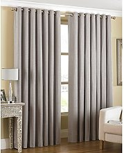 Just Contempo Modern Eyelet Lined Curtains,