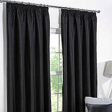 Just Contempo Plain Eyelet & Blackout Curtains in