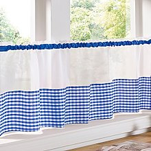 Just Contempo Traditional Café Curtain Panel with