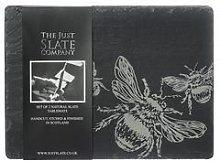Just Slate - 2 x Slate Bee Place Mats - Slate