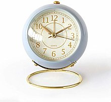 JUSTUP Small Table Clocks, Classic Non-Ticking