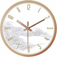 JUSTUP Wall Clock,12 Inch Modern Battery Operated