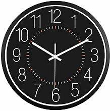 JUSTUP Wall Clock,12 Inch Modern Silent