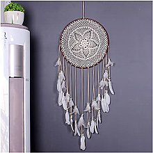 JUSTXIANG 1pc Big Dream Catcher Nordic Style White