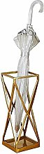 JUULLN Corridor Gold Metal Umbrella Stand With
