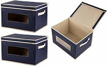Juvale Foldable Fabric Storage Containers Bins -