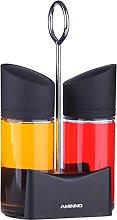 Juvale Oil and Vinegar Drizzle Bottles Cruet Set