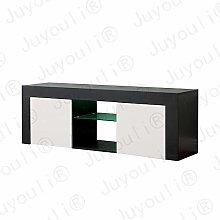Juyouli 130CM Modern TV Unit Stand Highgloss Door