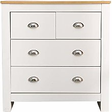 Juyouli 2+2 Chest of Drawers Cabinet Living Room