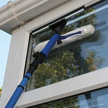 JVL Extendable Window Cleaning Kit, Dark Blue