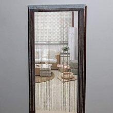 JVL Glitter String Door Curtain, 200cm x 90cm