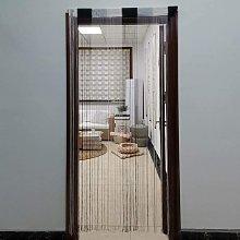 JVL Ombre String Door Curtain, 200cm x 90cm approx