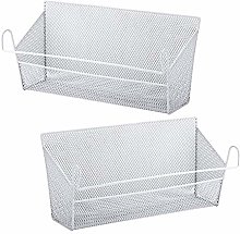 JVSISM Bunk Bed Storage Basket,Dormitory Bedside