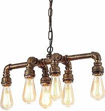 JW Vintage Industry Water Pipe Pendant Light Loft