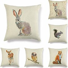 JWEK Pillowcase 6 Piece Set Creative Sofa Pillow