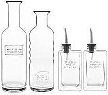 JWP - Optima 4 Piece Oil And Vinegar Set