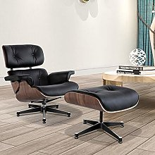 JWWS Real Leather Recliner Chairs Swivel Tilt with