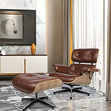 JWWS Swivel Recliner Chairs Real Leather Tilt