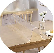JXFS Waterproof Clear Pvc Table Cover Protector