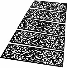 jxgzyy 5PCS Rubber Stair Treads Outdoor Indoor