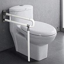 jxgzyy Toilet Grab Bar Folding Drop Down Grab