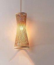 JXINGZI Japanese Handmade Bamboo Wicker Hanging