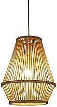 JXINGZI New Chinese Handmade Bamboo Wicker Hanging