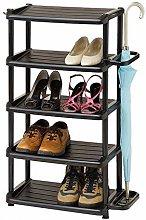 JXJ Home Shoe Cabinet Small Five-Layer Shoe
