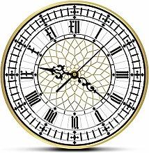 JXWH Big Ben Contemporary Modern Wall Clock Retro