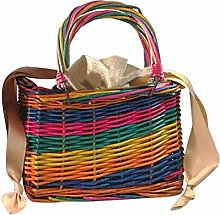 JY Hand Made a Variety of Colors Carrybag Rattan
