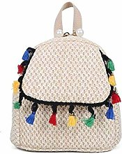 JY Ms Woven-Straw Shopping Bag Carrybag Beach Bag