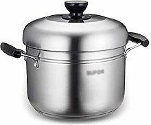 JY&WIN 304 stainless steel steamer/pot, 2-layer