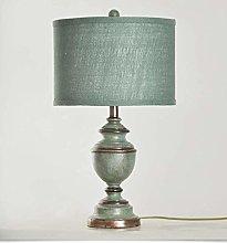 JY&WIN Bedside Table Lamp, Linen Shade Warm Light