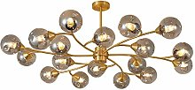 JYDQM Chandeliers,All Copper Chandelier,Room