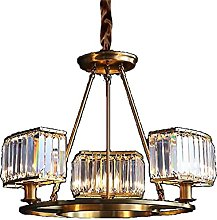 JYDQM Chandeliers,All Copper Crystal