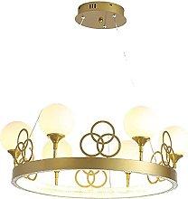 JYDQM Chandeliers,Modern Crown Led Chandelier,Room