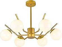 JYDQM Chandeliers,Simple Molecular Lamps