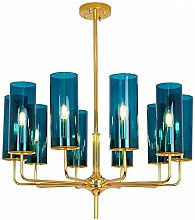 JYDQM Chandeliers,Simple Personality Glass