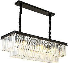 JYDQM Chandeliers,Square Crystal Chandelier,E14