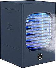 JYDQM USB Fan,3 in 1 Mini Air Cooler Air