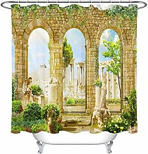 JYEJYRTEJ Ancient Roman Ruins Decorative shower