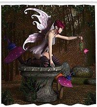 JYEJYRTEJ Fairy Goddess Forest Decorative shower