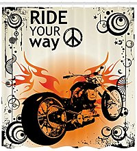 JYEJYRTEJ Freewheeling motorcycle Decorative
