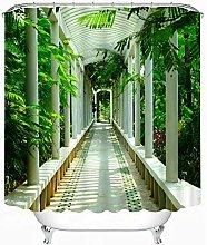 JYEJYRTEJ Green park white corridor Decorative