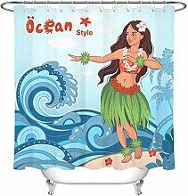 JYEJYRTEJ Hawaiian beautiful hula girl Decorative