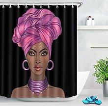 JYEJYRTEJ Makeup Art African Girl Decorative