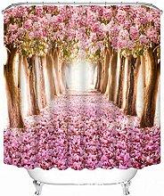 JYEJYRTEJ Romantic Cherry Blossom Path Decorative
