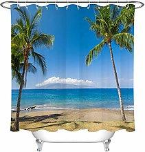 JYEJYRTEJ Seaside beach palm tree Decorative