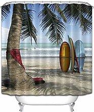 JYEJYRTEJ Surfboard Bali Beach Decorative shower