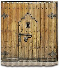 JYEJYRTEJ Vintage rustic wooden door Decorative